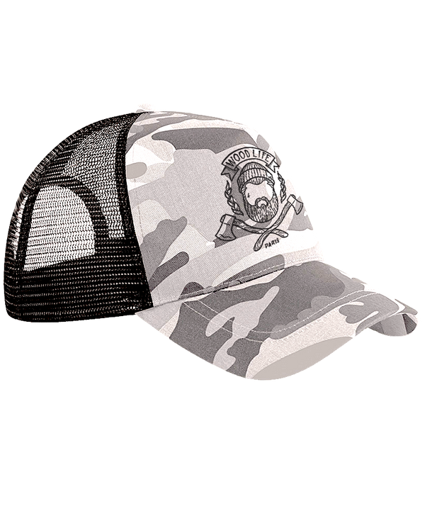 Casquette filet Trucker - Woodlife - Ice Camo - Woodlife - Les Bûcherons