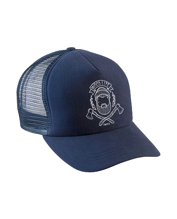 Casquette filet Trucker - Woodlife - Marine - Woodlife - Les Bûcherons