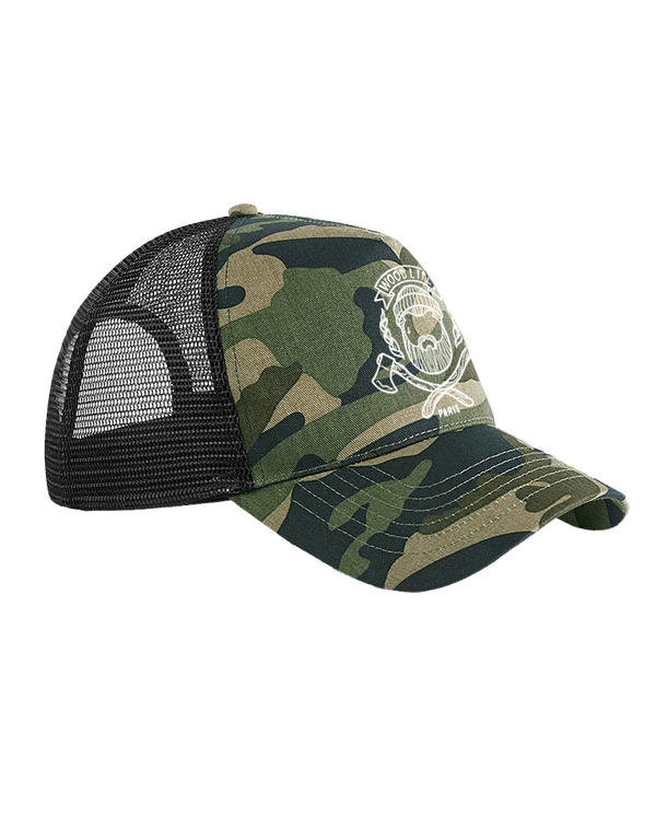 Casquette filet Trucker - Woodlife - Camouflage - Woodlife - Les Bûcherons