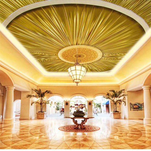 3D Ceiling - Enhanced Chandelier Ceiling Decoration Wallpaper Stickers