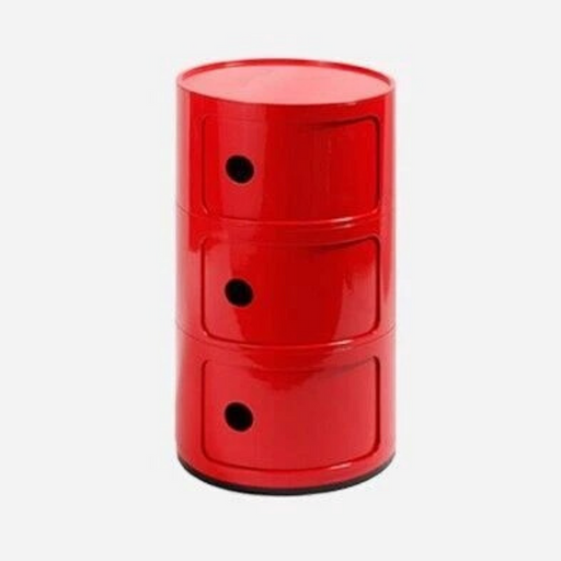 Modern Minimalist 3 Round Multi-functional Bedside Cabinet