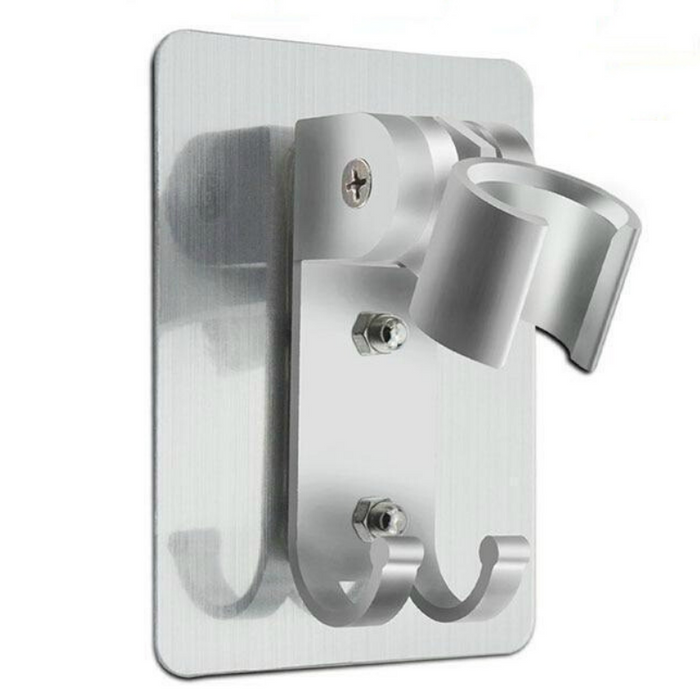 Wall Gel Mounted Shower Head Stand Bracket Holder