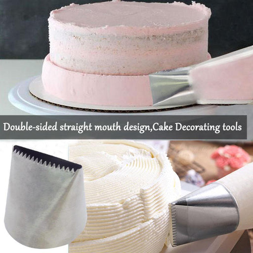 Baking Tools & Accessories - Extra Large Stainless Steel Baking Decoration Tools
