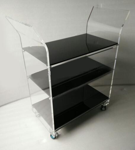 Bar Carts - High Quality Acrylic Serving Trolley Cart