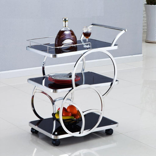 Bar Carts - Luxurious Kitchen Trolley Serving Cart
