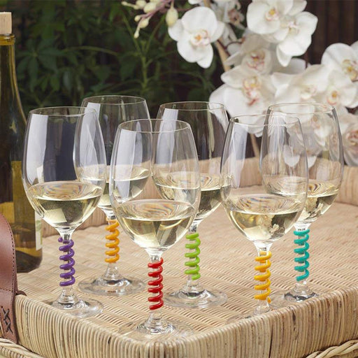 Bar Decoration - 18 & 12 Pcs Silicone Wine Glass Marker & Identifier