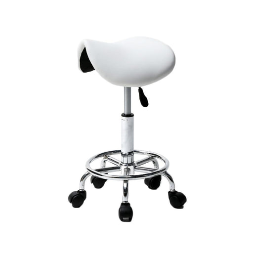 Bar Stools - Modern Hydraulic Swivel Saddle Bar Stool