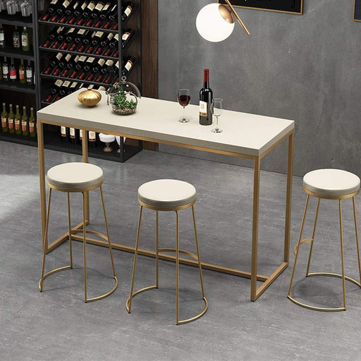 Bar Stools - Nordic Iron Wrought Bar Dining Stool