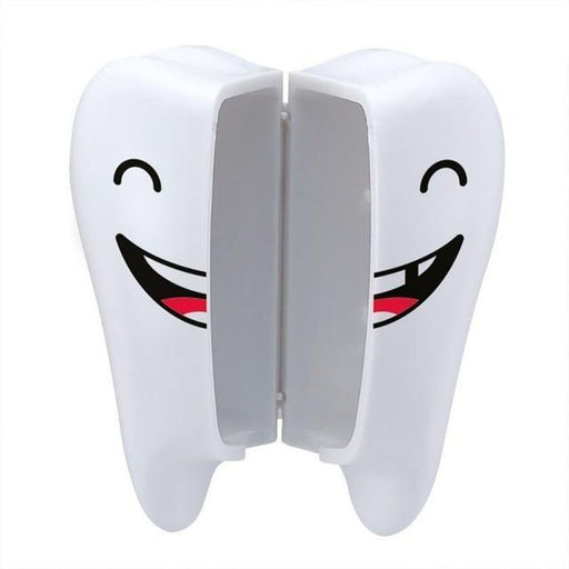Bathroom Soap Containers - Cute Smiley Teeth Style Toothbrush Holder