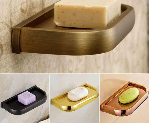 Bathroom Soap Holders - Multi-Color Wall Mounted Soap Tray
