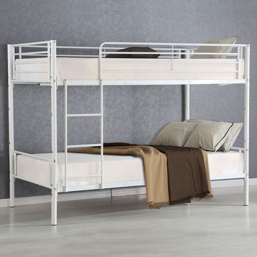 Bed Frames - Metal Twin Bed Frame With Ladder