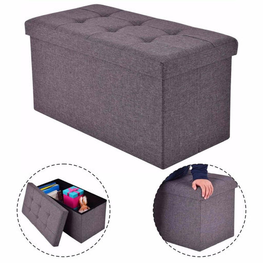 Benches - Modern Folding Rect Stool Box Footrest Storage