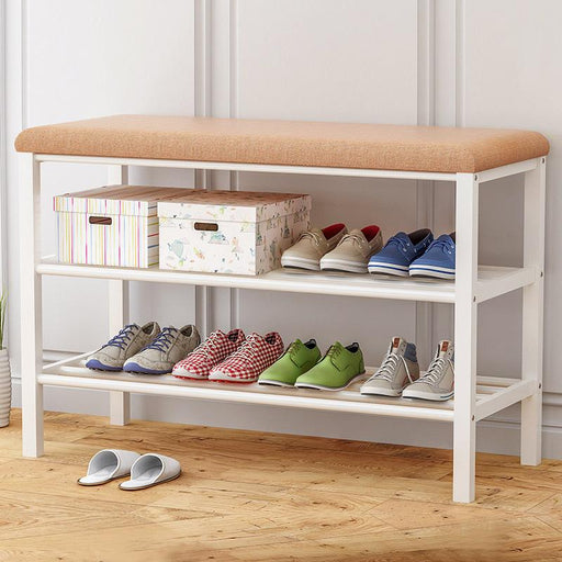 Benches - Simple Multi-Layer Economic Storage Cabinet Shoe Bench