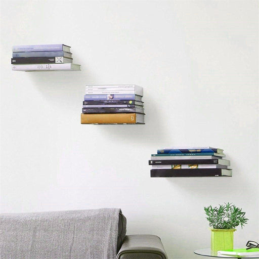 Book Cases - Floating Storing & Display Practical Book Cases