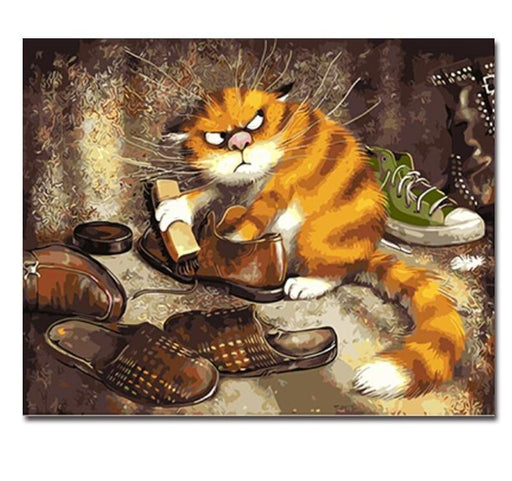 Canvas Painting Art - Animal Handwork Canvas Oil Painting Home Decor Wall Art