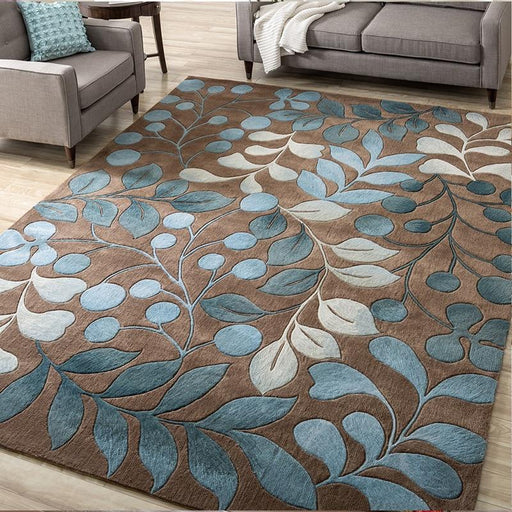 Carpets & Mats - High Quality Abstract Flower Art Carpet Mat