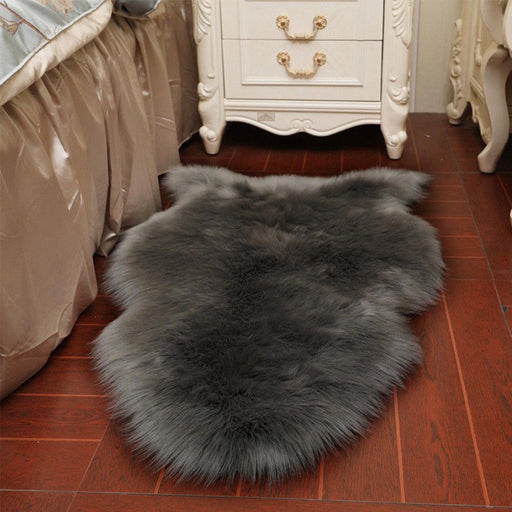 Carpets & Mats - Soft Shaggy Carpet Mat Warm Plush Floor Rugs