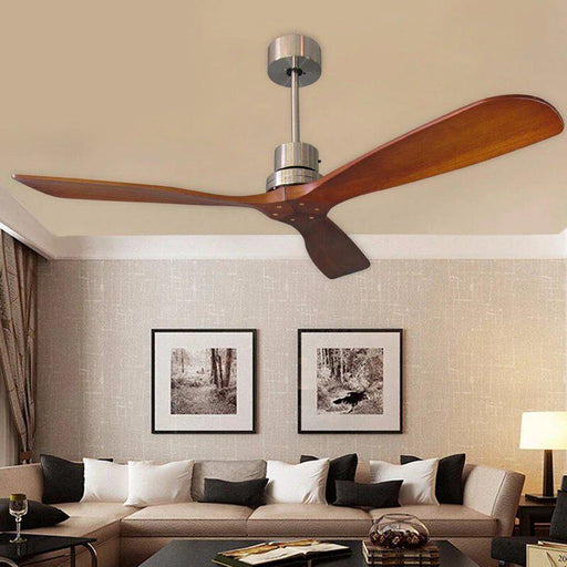 Ceiling Fans With Lights - Remote Controlled Wooden Ceiling Fans With & Without Lights