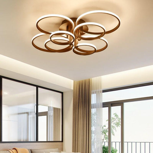 Chandelier - Modern LED Acrylic Lights Chandelier With Remote Control