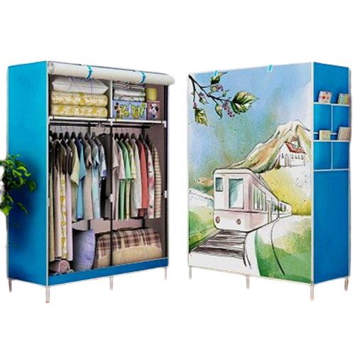 Large Capacity Double Hanging Closet With Wonderful Design