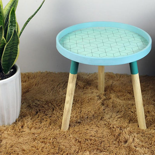 Coffee Table - Mini & Portable Nordic Theme Coffee Bedside Round Table
