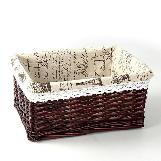 Decorative Baskets - Weaving Storage Decorative Organizer Basket
