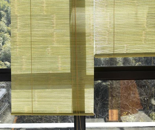 Decorative Screens - Vintage Bamboo Rural Curtain Shade Partition