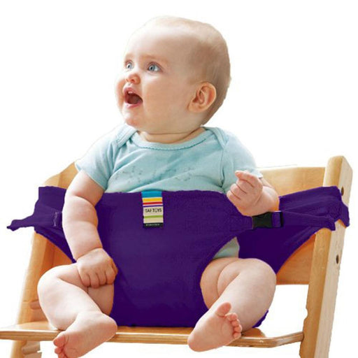 Dining Chair - Portable Belt Stretch Wrap Harness Dining Chair For Baby
