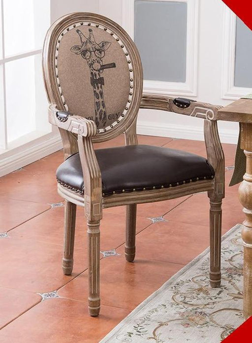 Dining Chair - Restaurant Style Solid Wood Dining Chair
