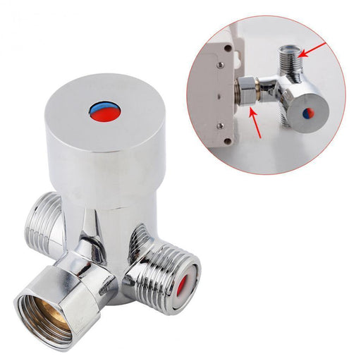 Faucet & Bathroom Valve - Hot Cold Water Mixing Valve