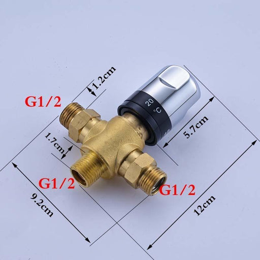 Faucet & Bathroom Valve - Thermostatic Valve Temperature Mixing Valve For Solar Water