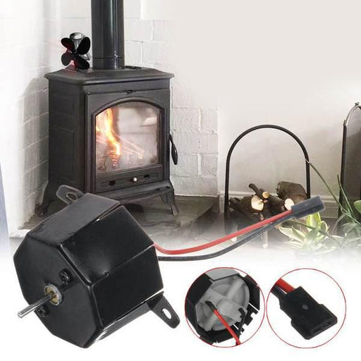Fireplace Accessories - Durable Fireplace Heat Powered Stove Heat Distribution Log Burner