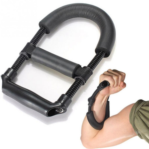 Fitness Equipments - Grip Power Wrist Forearm Hand Grip Exerciser Strength Training Device