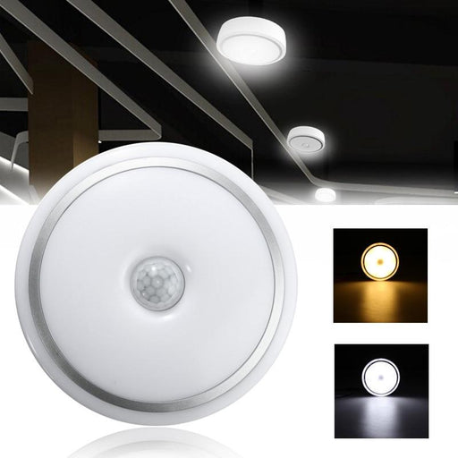 Flash Mount Lights - LED Infrared Sensor Ceiling Flush Mounted Lights