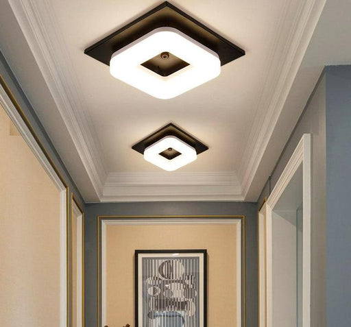 Flash Mount Lights - Square Art Modern Flush Mount Ceiling Lights
