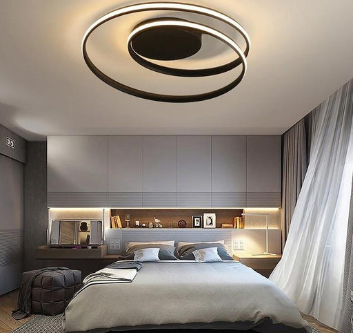 Flash Mount Lights - Twirling Modern Mount Flush LED Ceiling Lamp