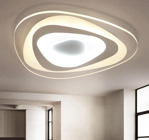 Flash Mount Lights - Ultra Thin Triangle Mount Ceiling Light Lamps