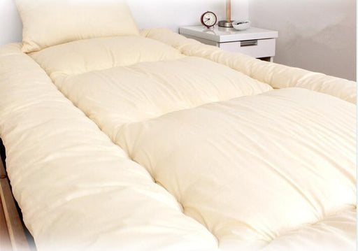 Futons - 4 Pcs/Set Compact-Size Futon Set Comforter & Mattress