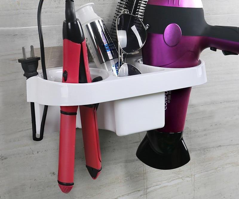 Hair Accessory Hardwares - Suction Plastic Hair Essentials Storage Rack