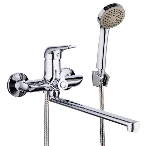 Handheld Shower - 1 Set Zinc Alloy Piping Outlet Bathtub Shower Faucet