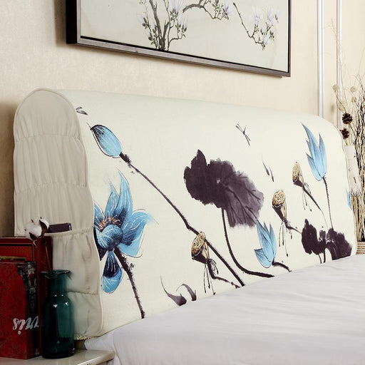 Headboard Covers & Protection - Decorative Fabric Comfortable Protective & Covers