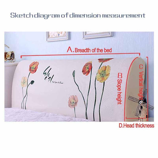 Headboard Covers & Protection - Dust Proof Elastic Cloth Headboard Cover