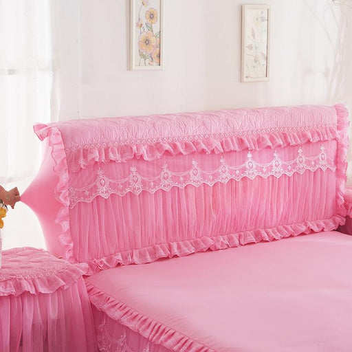 Headboard Covers & Protection - Romantic Princess Bed Headboard Decorative Cover