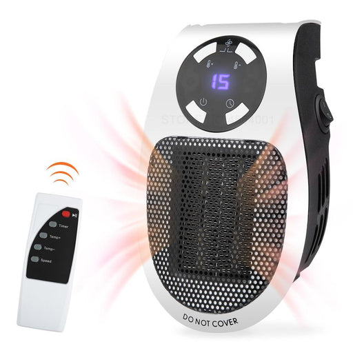 Heaters - Adjustable & Portable Remote Controlled Heater Machine