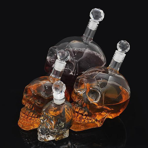 Kitchen Decorations & Accessories - Crystal Skull Shaped Vodka Bottle