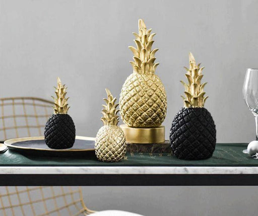 Kitchen Decorations & Accessories - Nordic Style Modern Golden Pineapple Kitchen Decor