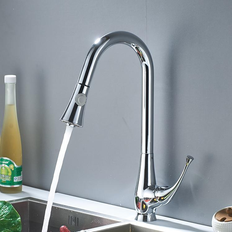 Kitchen Faucet - Single Lever Pull Out Kitchen Faucet