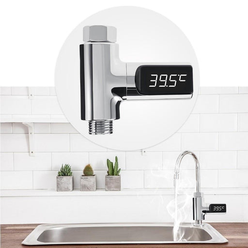 Kitchen Faucet - Water Temperature LED Display Monitor
