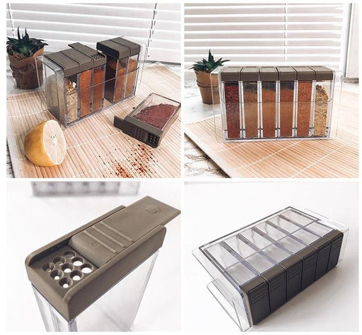 Kitchen Organizer & Hardware - Kitchen Seasoning Storage Box
