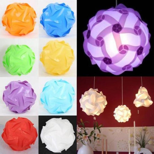 Lamp Shades - 30 Pcs Element Modern IQ Puzzle Light Lamp Shade